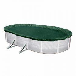 Téliesítő takaró 5,5m*3,7m ovális (6,2x 4,4m)