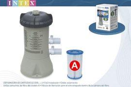 Intex papírszűrős vízforgató 2m3/h