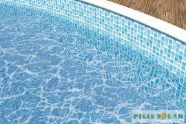 Medence belső fólia mozaik mintás 5,5mx3,7mx1,2m ovál